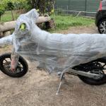 Embalaje para Transporte de Motos